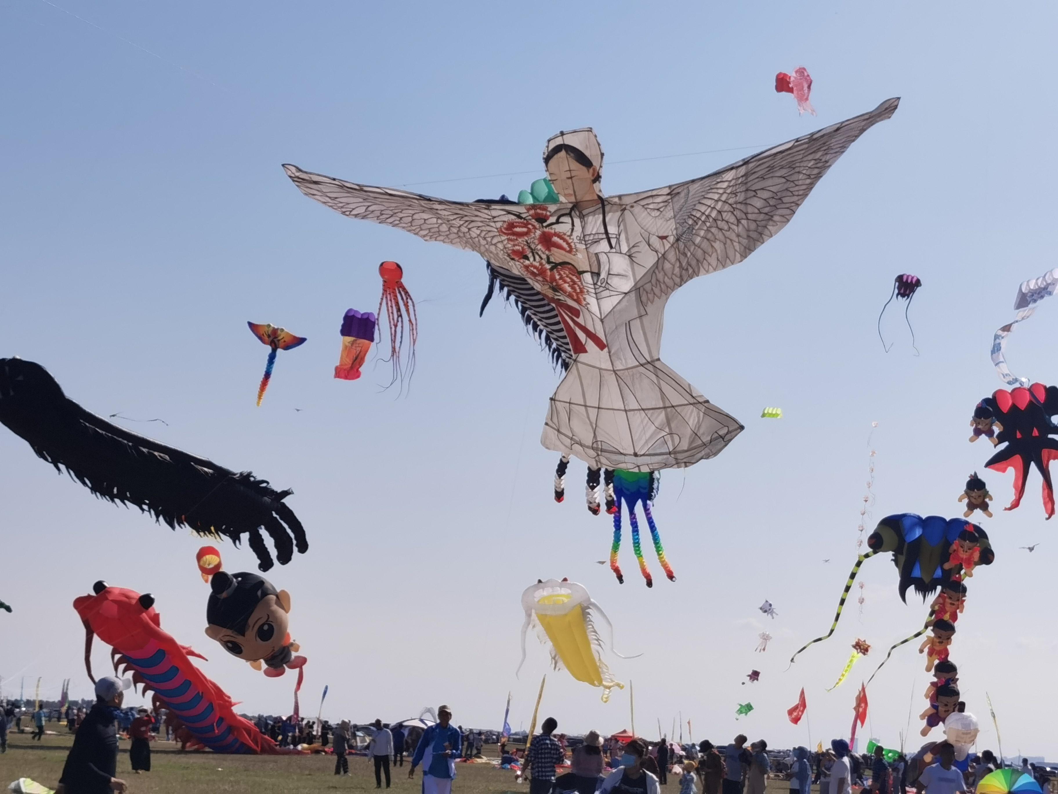 濰坊國際風箏會放飛「白衣天使」
