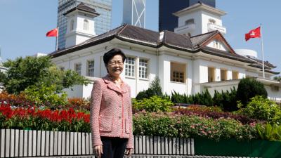 林鄭月娥:公僕生涯40年無懼任何打擊 堅持服務市民