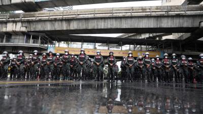 泰警方命令媒體調查抗議活動