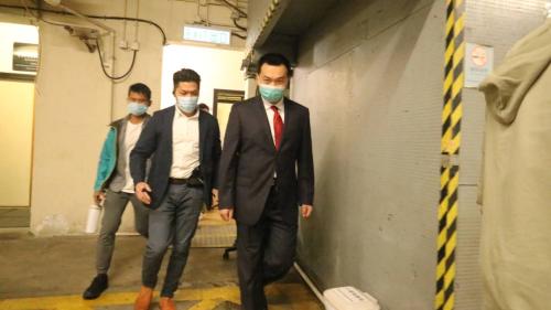 《環時》記者被襲案今續審 付國豪出庭作供