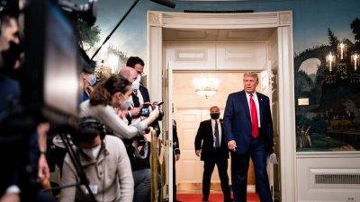 特朗普擬在拜登就職日宣布2024年再選總統