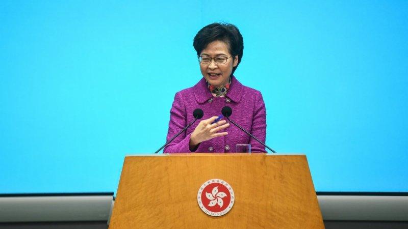 林鄭月娥:考慮將公職人員宣誓涵蓋至其他界別