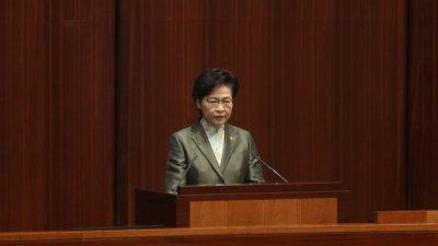 林鄭:真心希望被捕未成年人改過自新 不留案底