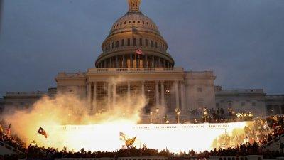 圖集 民主黨擬彈劾 特朗普或被趕下台