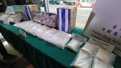 2男涉奶粉運毒案被捕 海關檢值1400萬毒品