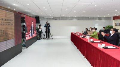 黃柳權:中央全力支持香港 各界要增強必勝信念