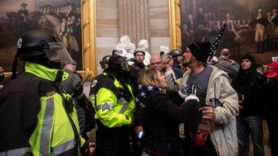 情報稱極端分子4日衝擊美國會大廈