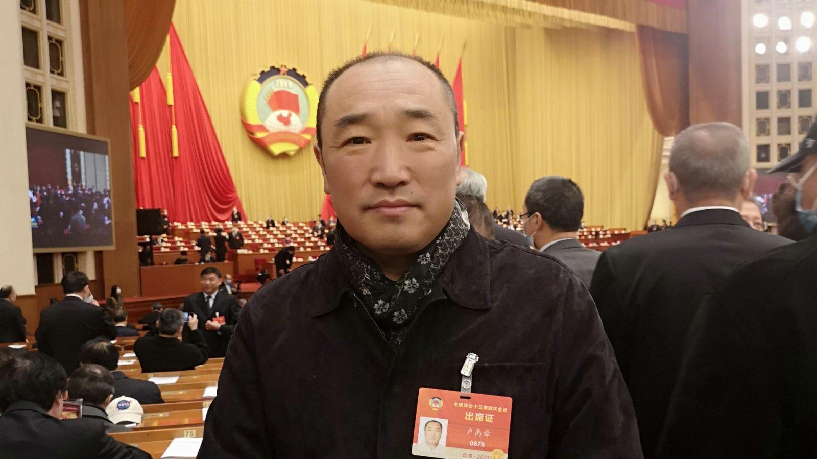 全國政協委員盧禹舜:把脈時代美術精品 加強梳理扎根於民