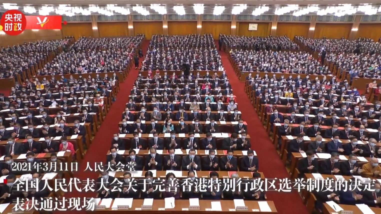 朱新勝:人大決定合憲合法 改革選舉制度利港利民