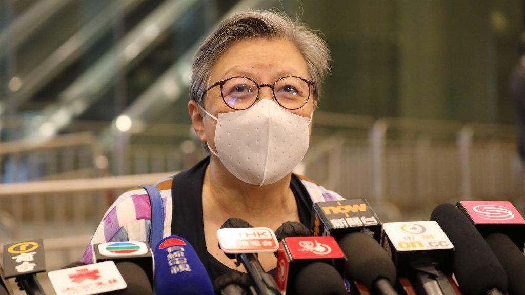 范徐麗泰:完善選舉不會讓香港失去批評聲音