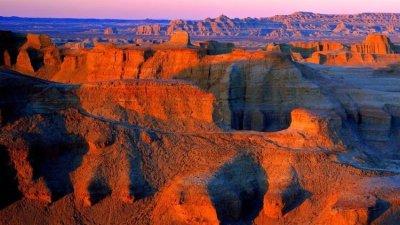 大美新疆之十一——克拉瑪依魔鬼城&庫車大峽谷