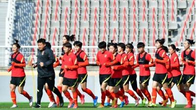奧運會預選賽中國女足2:1險勝韓國