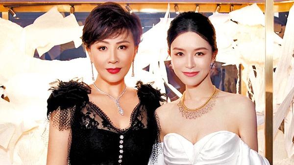 劉嘉玲文詠珊兩代「女神」同框