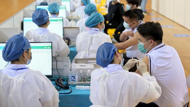 內地累計接種新冠疫苗17192.8萬劑次