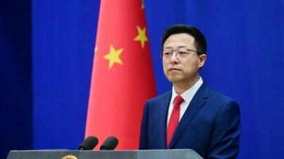 外交部敦促美方不要在台灣問題上「玩火」