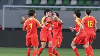 中國女足拿下東京奧運會參賽資格