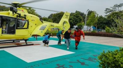 5G、4K、直升機!深圳首次開展5G+航空救援應急演練