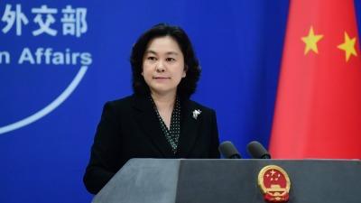 華春瑩連發三推反問日本