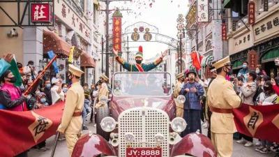 河南電影小鎮「旗袍假日」主題活動吸引近20萬遊客打卡