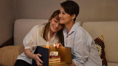 母女檔上陣拍廣告 黎燕珊獲愛女贈母親節驚喜禮物
