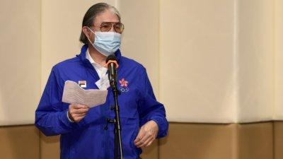 霍震霆:香港運動員配合東奧防疫要求 備戰狀況不錯