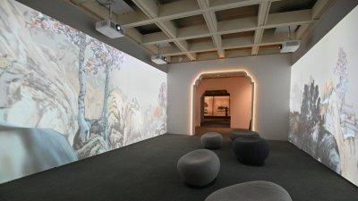 (圖集)逾80組廣東繪畫精品明起藝術館展出