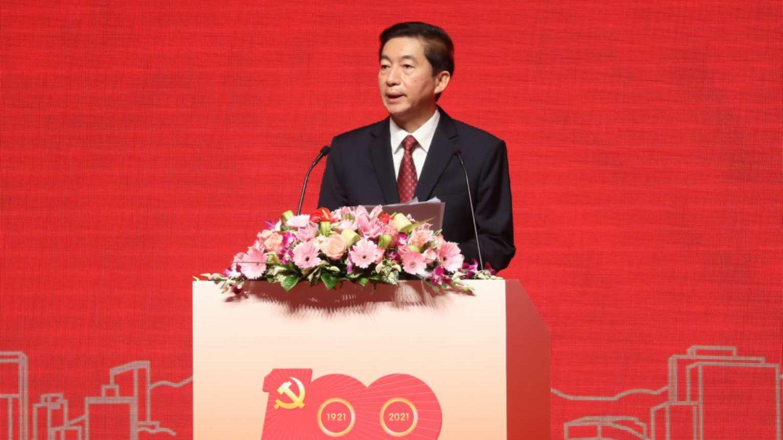 香港中聯辦主任駱惠寧談繼續推進「一國兩制」事業