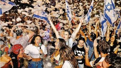 以色列變天 威嚇哈馬斯勿撞鋼牆