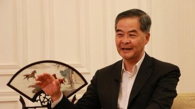 梁振英呼籲香港社會應該現實地把握國家發展機會