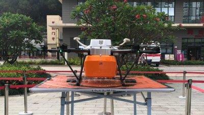 深圳啟用無人機等科技力量參與疫情防控