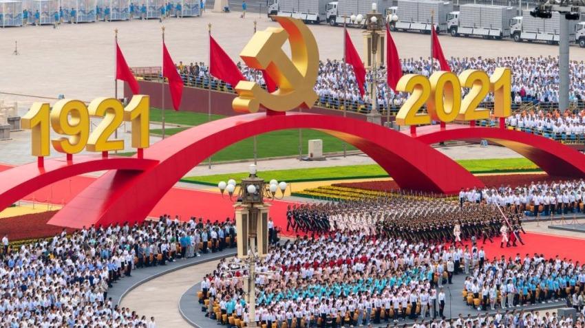 回放 | 中共建黨100周年慶祝大會 習近平發表重要講話