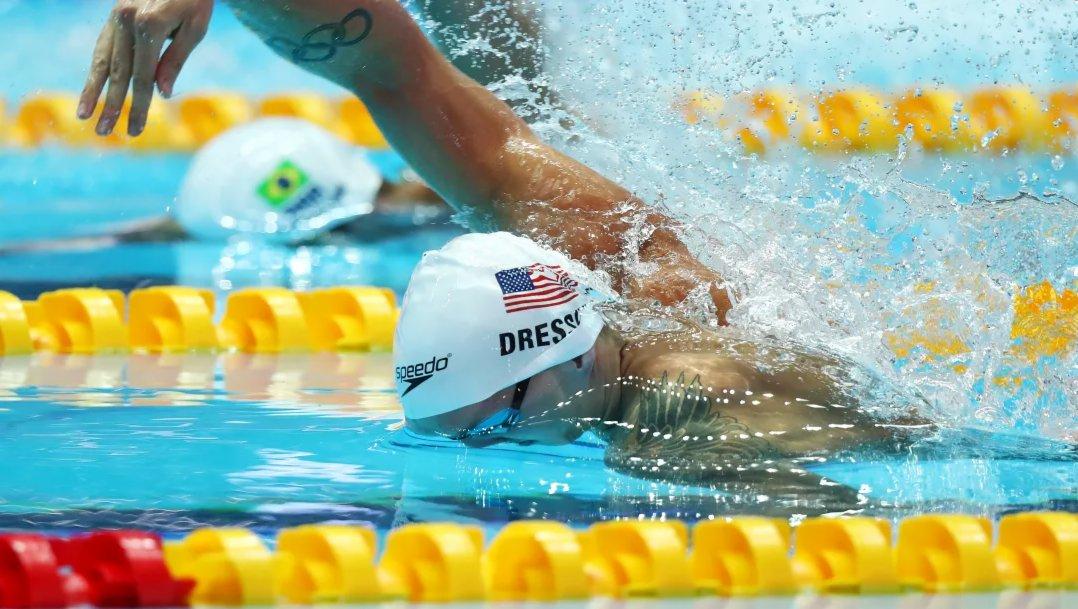 凱勒布·德雷塞爾(美國),游泳。 凱勒布·德雷塞爾是首位100米自由泳游進40秒大關的運動員,雖然他在奧運賽場破紀錄方面尚未有太多表現(他的兩枚裡約奧運會金牌來自4x100米自由泳接力和4x100米混合泳接力),但是他在其它賽場上屢有斬獲。他是目前100米蝶泳、50米自由泳以及100米個人混合泳世界紀錄保持者。從他的東京奧運會備戰表現來看,他有望在日本創造新紀錄。