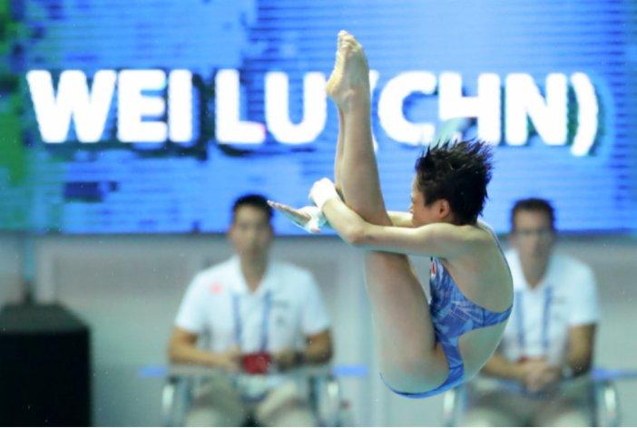 陳芋汐(中國),跳水。 2019年世錦賽,陳芋汐奪得女子10米台冠軍時年僅13歲,如今在短短兩年內完成省隊、國家隊、世界冠軍,直至登上奧運賽場的四連跳,也期待她能在東京奧運帶來新的驚喜。
