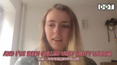 獨家採訪|德國女孩不畏流言為華發聲:「我本不想當網紅」