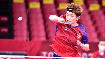 女乒團體賽港隊3:1勝巴西 成功晉級8強