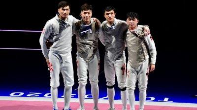 奧運團體賽以第7名完成 香港「男花」展望巴黎奧運