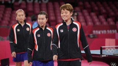 港隊乒乓女團今戰羅馬尼亞爭入四強