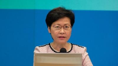 林鄭:公務員教師須打疫苗 否則自費定期檢測