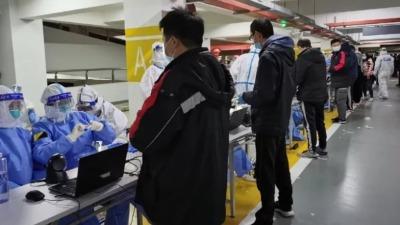 上海浦東機場貨運區一外航貨機服務人員新冠病毒核酸檢測陽性
