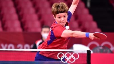 港隊乒乓女團今晚與日本爭入決賽