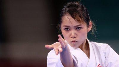 劉慕裳享受奧運笑迎銅牌戰