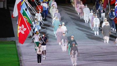 東奧港隊代表團凱旋