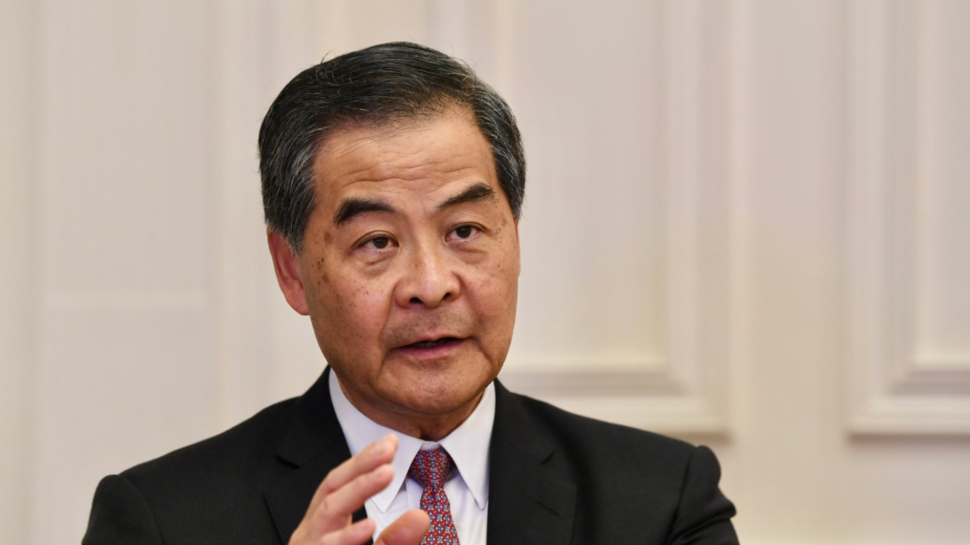 梁振英籲香港法律界在前海合作平台上發揮優勢