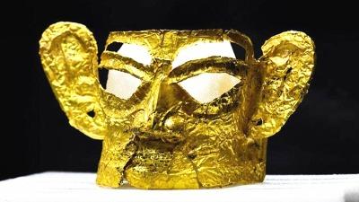 三星堆考古發布重大成果 完整「金面具」亮相