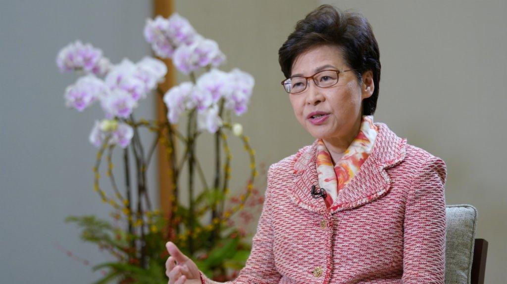 林鄭:「前海方案」增港人對國家向心力