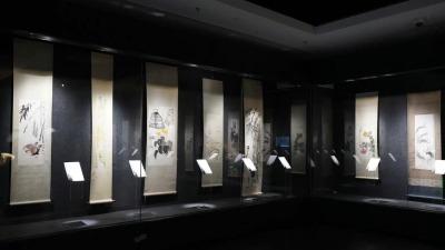 齊白石抗戰作品展今日重慶中國三峽博物館開展