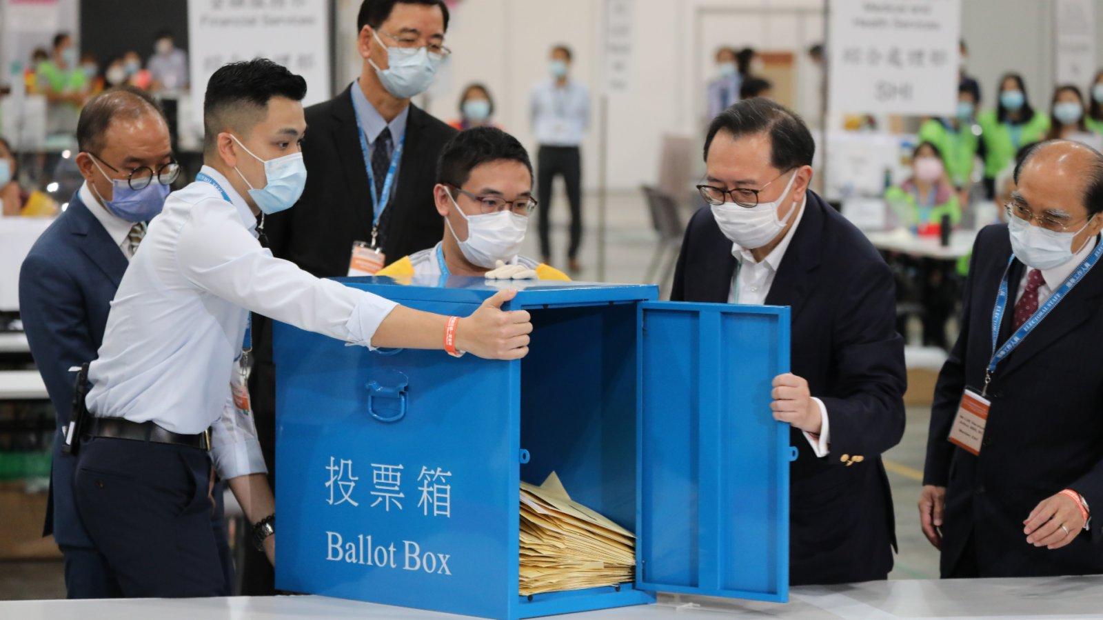 香港中聯辦:香港選委會選舉貫徹「愛國者治港」原則 彰顯新選制進步性