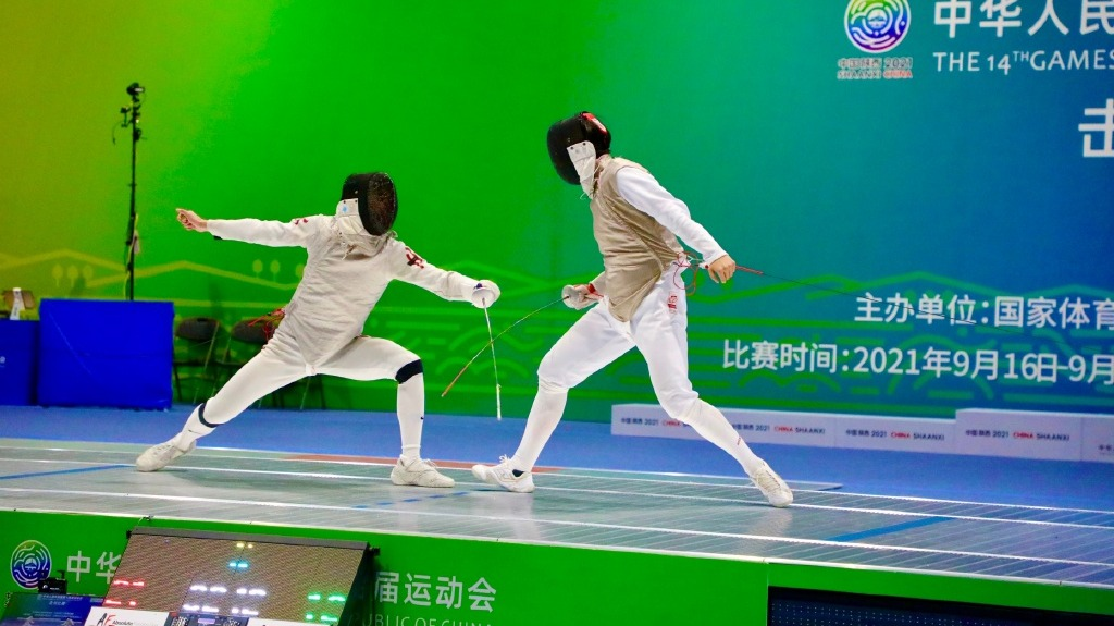 全運會男子花劍團體賽港隊摘銅