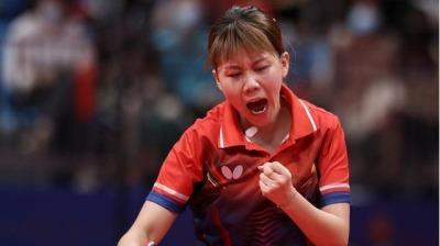 十四運乒乓球產生首金 女團遼寧奪冠男團廣東摘金