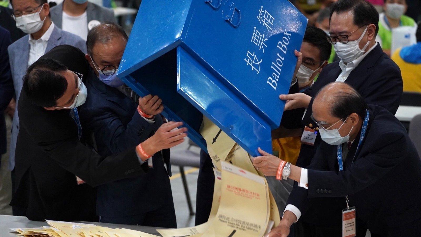 林鄭:防立會選舉再現點票慢問題